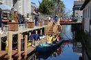 水路共通、和船運航も 呉服元町に「オランダハウス」