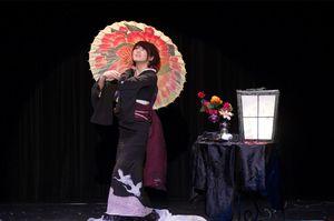 2011年、マジックの世界大会FISMアジア予選に日本代表として出場した和風手品師のizumaさん