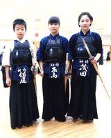 右から茂田和さん、糸山陽香さん、佐尾光英君