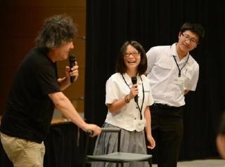 茂木健一郎さんと高校生座談会(1)
