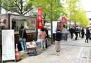 JR佐賀駅南側、2車線使い社会実験 キッチンカーやテラス…