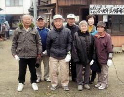 第323回武内各町GB大会 米寿など高齢の参加者