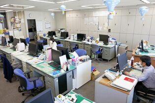 〈新型コロナ〉県事務所で在宅勤務…