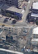 札幌の爆発、広範囲に爆風か