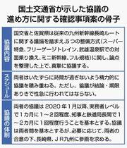 <新幹線長崎ルート>国「フル前提…