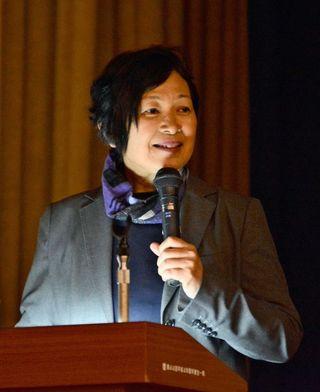 「自分が主役の人生を」いのちの授業、助産師の寺田さん講演