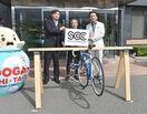 駐輪用ラック60カ所に設置 佐賀県「サイクルツーリズム」…