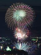 7月15日、唐津市西の浜に6000発 第66回九州花火大会