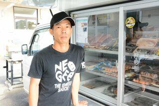 <まちの仕掛け人>鮮魚移動販売を始めた 野嵜星矢さん(31)