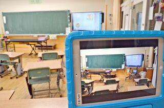 <新型コロナ>オンライン授業、現場苦心 佐賀県内、ICT対応追いつかず