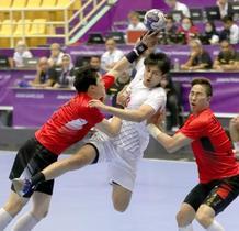 アジア大会、日本は韓国とドロー