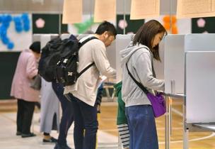 統一地方選、投票率の最低相次ぐ