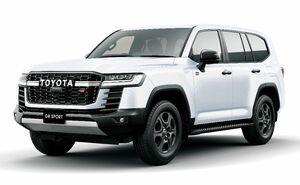 トヨタ自動車が全面改良し発売したSUV「ランドクルーザー」