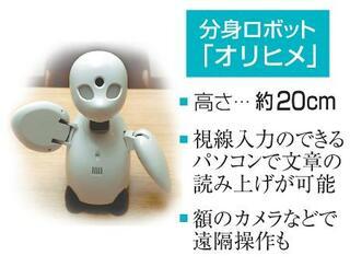 議員活動に「分身ロボット」要望