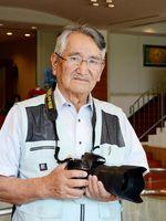 NJPフォトコンテストで最高賞となる「推薦」を受賞した石橋照生さん