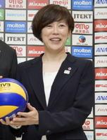 バレーボール女子の日本代表監督就任が決まった中田久美さん