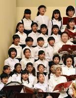 次代を担う子どもたちも歌声を響かせた