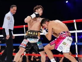 ボクシング、井上尚が3階級制覇