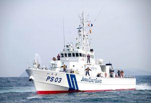 玄界灘西方海域を中心に警備救難業務にあたる巡視船「いなさ」