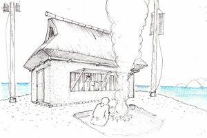 小川島鯨見張所