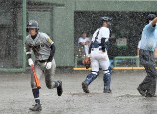 <雑感>降雨ノーゲーム 佐賀北「天気には勝てない」