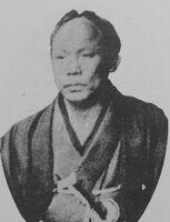 佐野榮壽左衛門(常民)肖像(『鍋島直正公傳』より)