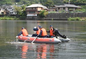 ドローンを使用した救助訓練 佐賀北署