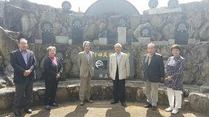 村田英雄記念碑建立会のメンバー
