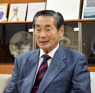 河井克行前法相、大竹市長に封筒
