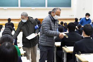 佐賀大学2次試験・前期日程始まる…