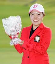 女子ゴルフ、古江彩佳が逆転優勝