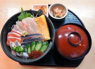 食事処きたむらの「海鮮丼」