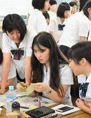 日韓高校生、書で交流 韓国・筏橋商、佐賀商を訪問