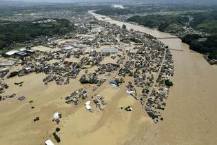 7月豪雨、「特定非常災害」指定
