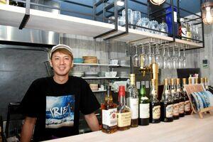 イタリアンバル「IRIE」のオーナーの田代幸寛さん