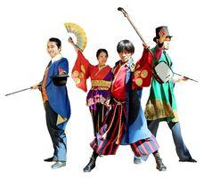 山口県の明治維新150年観光キャンペーンをPRする「やまぐち奇兵隊」