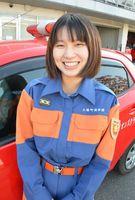 上峰町消防団女性部 寺崎聖香さん