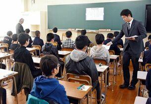 佐賀県立4中学1180人受検 平…