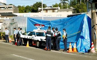 交番で警官刺され死亡、仙台