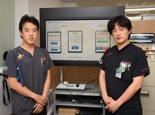 災害時患者支援アプリ開発 佐賀大病院・救命救急センター