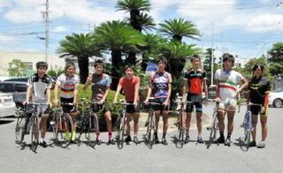 龍谷高編 自転車競技部 競輪場でプロが指導も