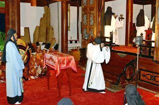 28日に多久聖廟秋の釈菜 舞や太…