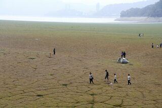 台湾で半世紀ぶり干ばつ 農産物被害、半導体産業への影響懸念