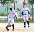 脳性まひに負けない 神埼清明高野球部の小川さん