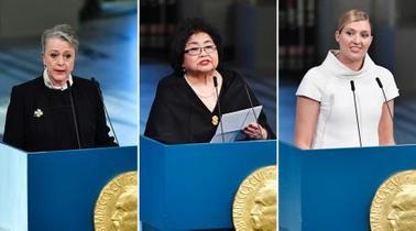 平和賞NGO、演説で保有国非難