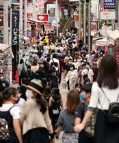 東京で新たに5人感染、1人死亡