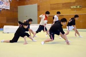 新体操男子団体で頂点を目指す神埼清明
