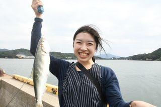 新人担当、人生初の海釣り体験 コノシロ、サバが釣れ「大満足」