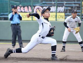 〈NTT西杯少年野球・第3日〉高木瀬小クラブ3―0西有田球友
