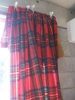 古い毛布で窓際の防寒対策